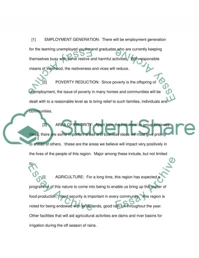 Start-up business support Essay example
