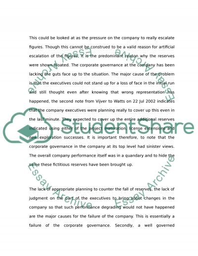 Shell essay example