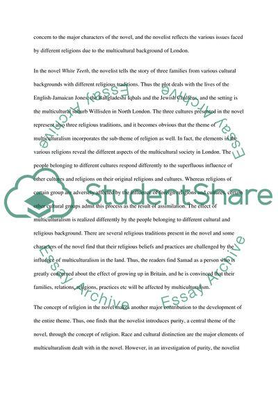 white teeth zadie smith essay topics