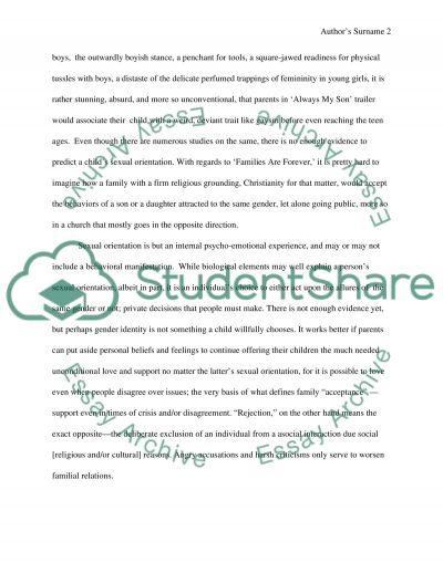 Parenting-week 4 essay example