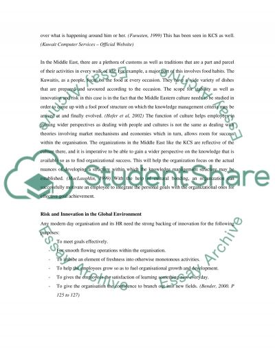 Management and Organisations in a Global Environment essay example