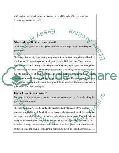 account essay example