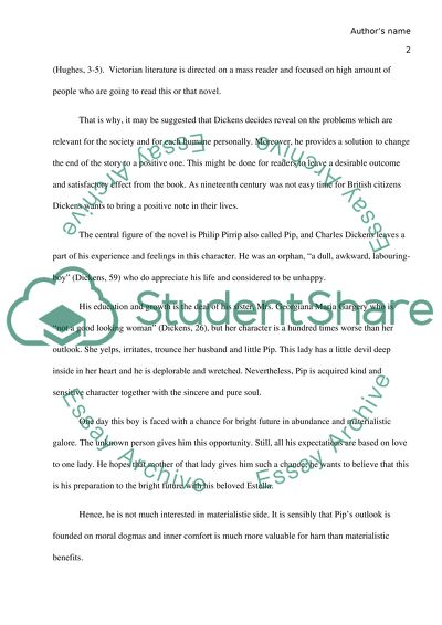 Modest Proposal Essay Ideas Great Expectation By Charles Dickens Topics For Argumentative Essays For High School also Thesis In Essay Great Expectation By Charles Dickens Essay Example  Topics And Well  Example Of A Essay Paper
