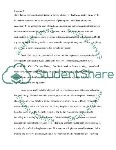 Its a Job Application Paper