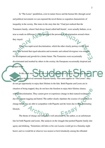 Essay For English Language  Process Essay Example Paper also Example Of An Essay Paper Formal Essay For The Short Story The Loonsby Margaret Laurence The Newspaper Essay