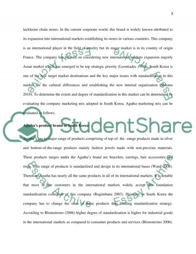International marketing mix: sustainable operation management Essay example