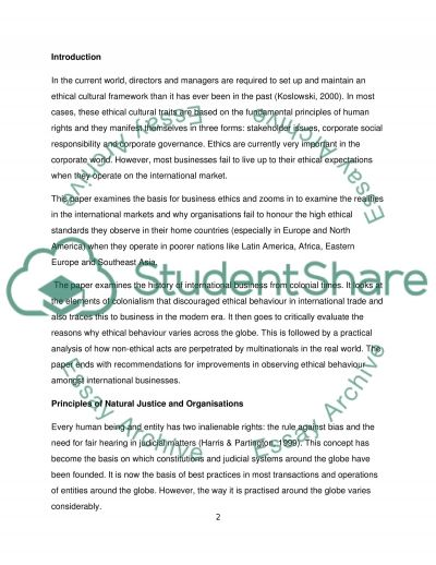 Foundations of Scholarship essay example