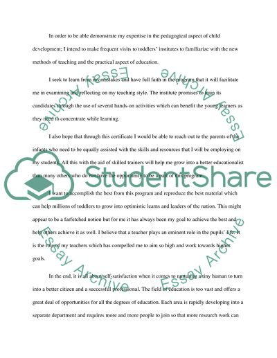 Why do I want to be a Teacher Essay Example | Topics and Well ...