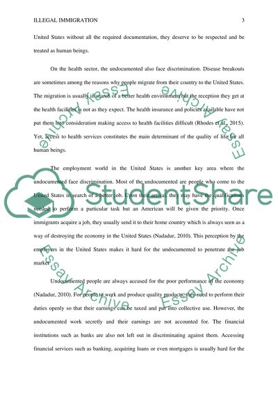 Personal Essay Samples For High School Illegal Immigration  Essay Example High School Years Essay also High School Entrance Essay Examples Illegal Immigration Essay Example  Topics And Well Written Essays  Essay Health