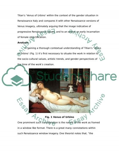 Titians Venus of Urbino