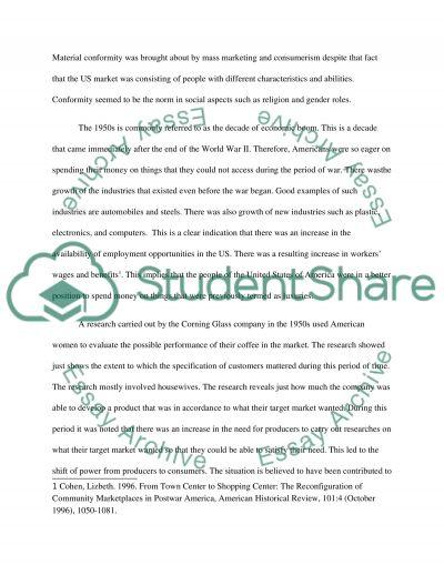 Affluent Society essay example