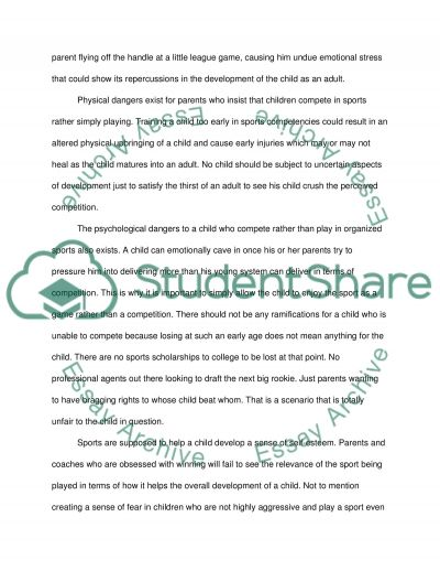 summary on the essay children need to play example topics and  summary on the essay children need to play essay example