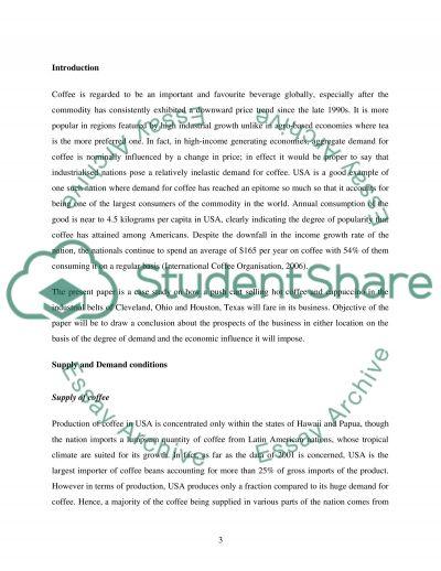 Economic impact essay example