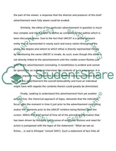 rhetoric analysis essay