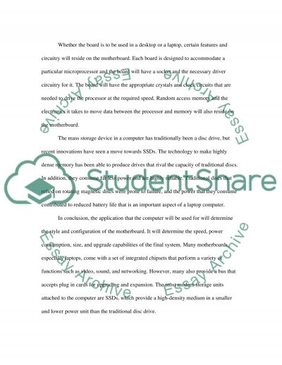 Information Technology High School Essay essay example
