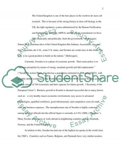 Regulatory and Economic environment Essay essay example