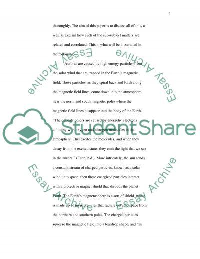 Auroas essay example