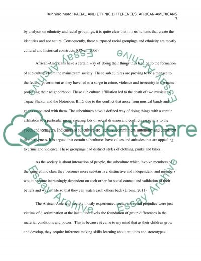 different ethnic groups 4 essay