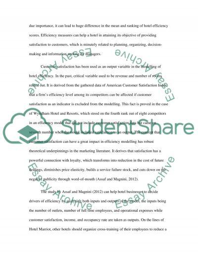 Marketing - Service Marketing essay example