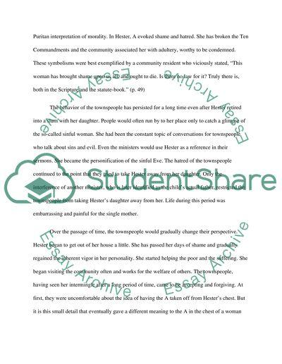 the scarlet letter essay   term paper sample the scarlet letter essay