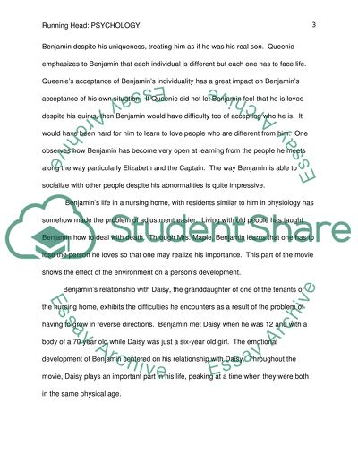 Examples Of Thesis Statements For Narrative Essays Benjamin Button How To Write An Essay In High School also Thesis In A Essay Benjamin Button Essay Example  Topics And Well Written Essays    Process Paper Essay