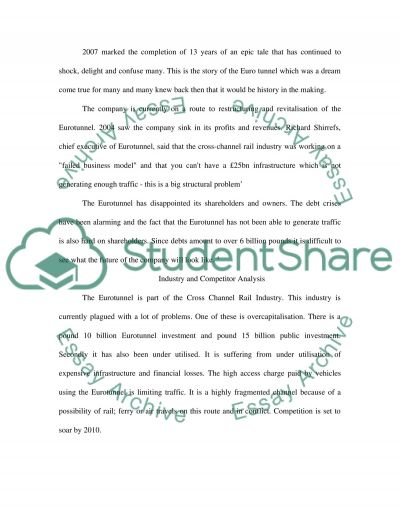 Corporate strategy case study essay example