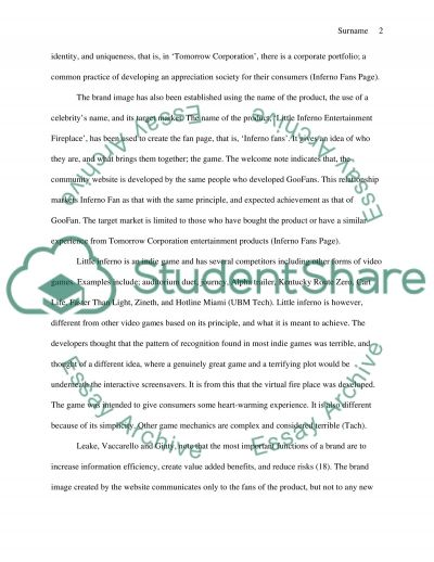 Consumer website Analysis and Evaluation Project essay example