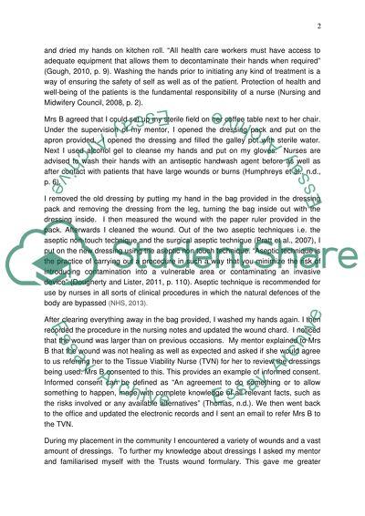 Refelction essay