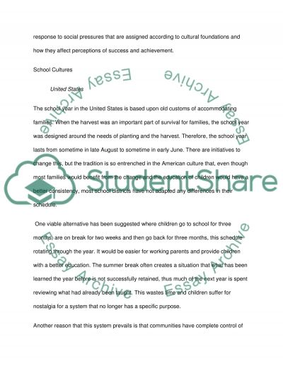 A comparative analysis of the education system in China and the USA essay example