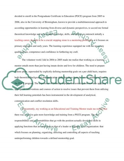 Essay Topics For Of Mice And Men Writing A Personal Statement For A Learning Mentor Job An Example Of A Descriptive Essay also The Story Of An Hour Setting Analysis Essay Writing A Personal Statement For A Learning Mentor Job Essay Compare And Contrast Essay Template