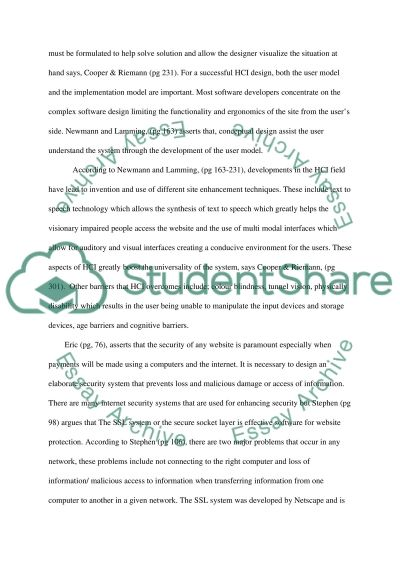 E- Commerce application for Computer hardware Sale essay example