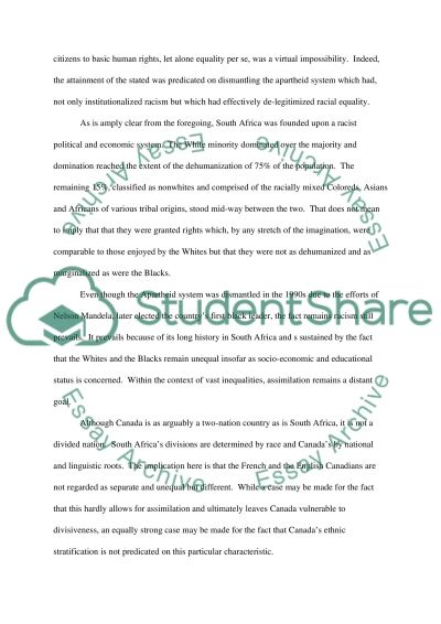 racial discrimination essay example topics and well written racial discrimination essay example