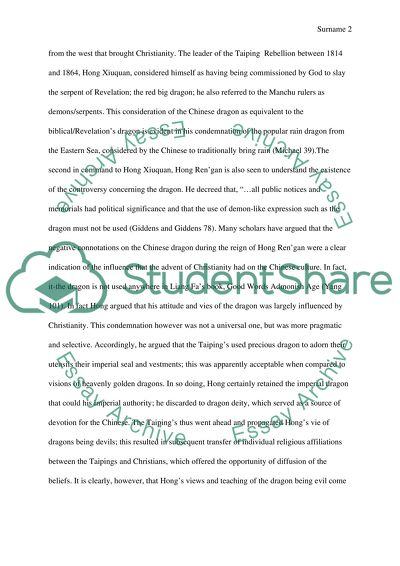 Life After High School Essay The Chinese Dragon And Its Influence On Christianity In China Topics For A Proposal Essay also A Modest Proposal Ideas For Essays The Chinese Dragon And Its Influence On Christianity In China Essay How To Write A Good Thesis Statement For An Essay