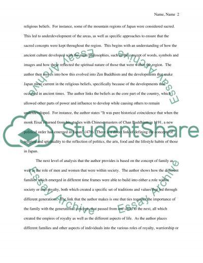 Critical respond essay example