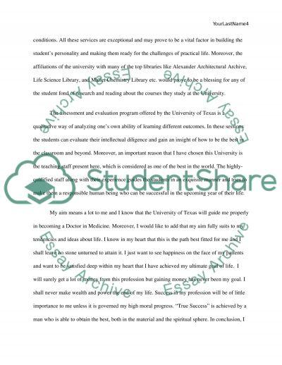 grad school admission essay length