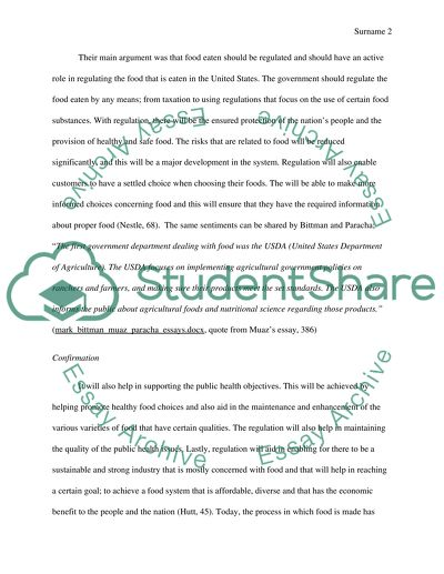 persuasive on government regulation of food essay persuasive on government regulation of food