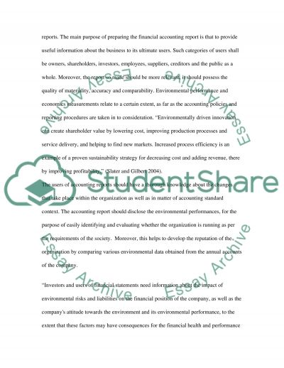 Contemporary Issues in Accounting essay example