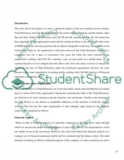 Financial Management essay Essay example