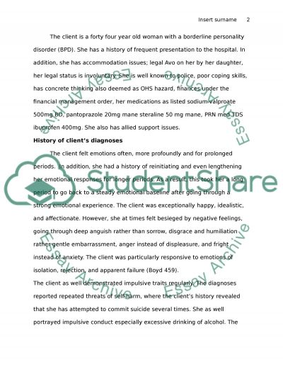ASSESSMENT 1 AND ASSESSMENT2 essay example