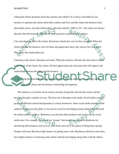 Marketing International Business: Branding, Communications and Relationships questions essay example