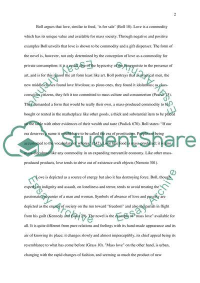 World Literature High School Essay