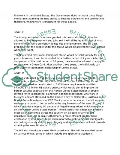 Presentation Gang of eight essay example