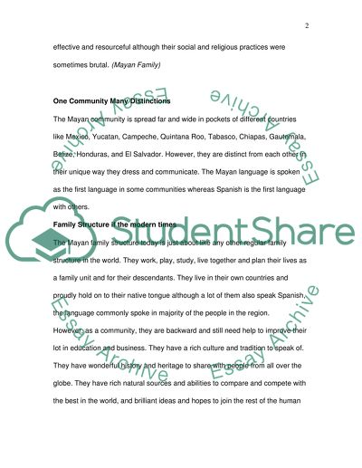 All About My Family Essay Mayan Family Structure Topics To Write A Persuasive Essay also How To Write A Good Essay For High School Mayan Family Structure Essay Example  Topics And Well Written  Personal Leadership Essay