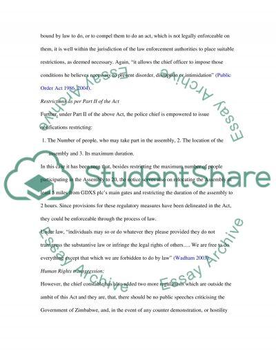 PUBLIC LAW Master Case Study essay example