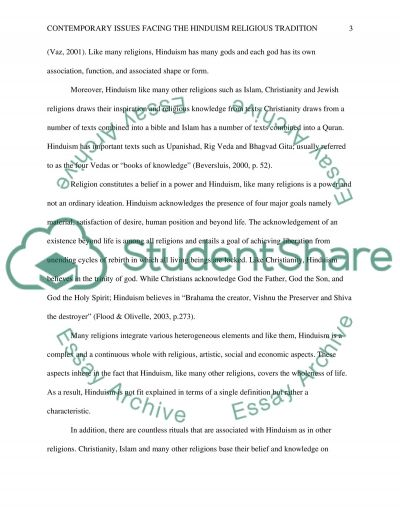 REL133 wk 5 contemporary issues facing the assigned Eastern religious tradition essay example