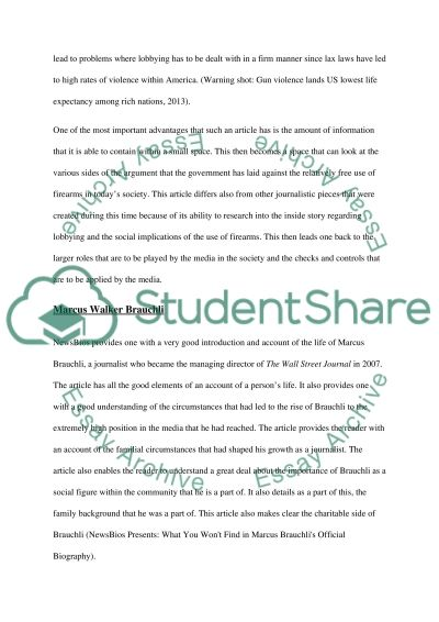 How newspaper work Essay example