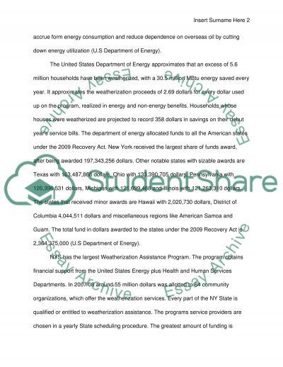 LISC essay example