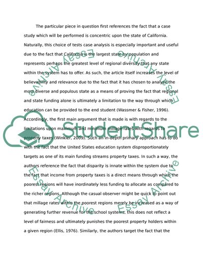 Critical Article Review