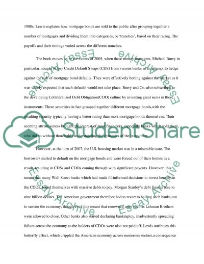 the big short essay