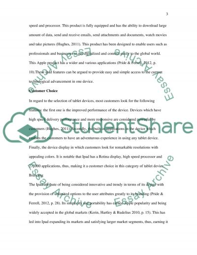 Focus of the marketing mix essay example